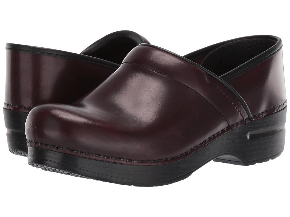 Dansko Professional (Cordovan Cabrio) Clog Shoes