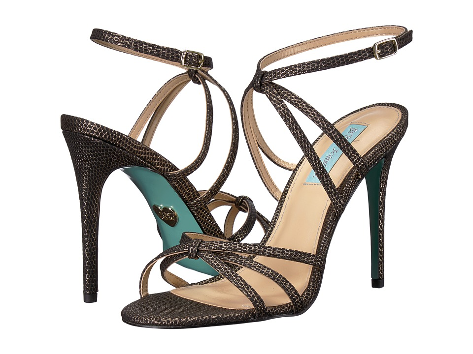 Blue by Betsey Johnson Myla (Black/Gold) High Heels
