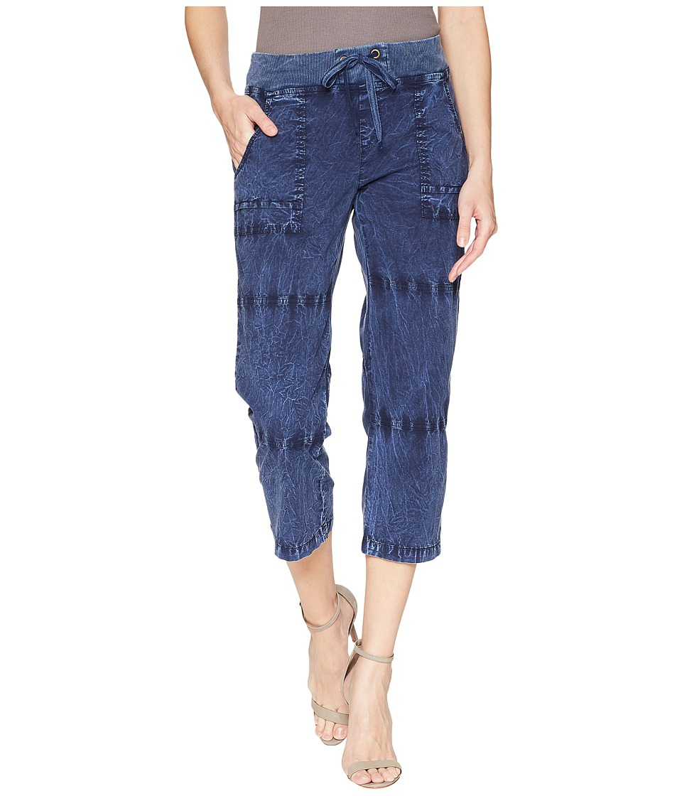 XCVI - Caden Crop (Distressed Evening Wash) Womens Clothing