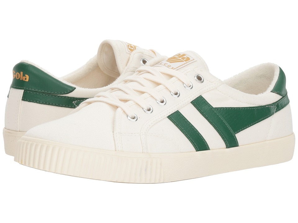 Gola - Tennis (Off-White/Green) Boys Shoes