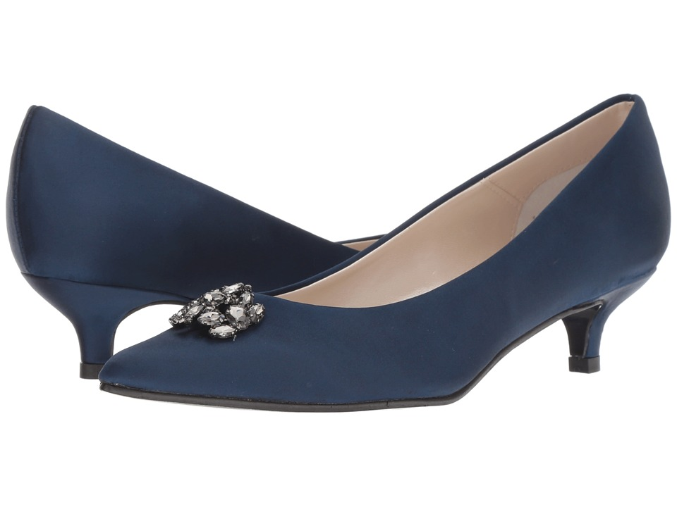 Caparros Oligarch (Navy New Satin) Women's Shoes