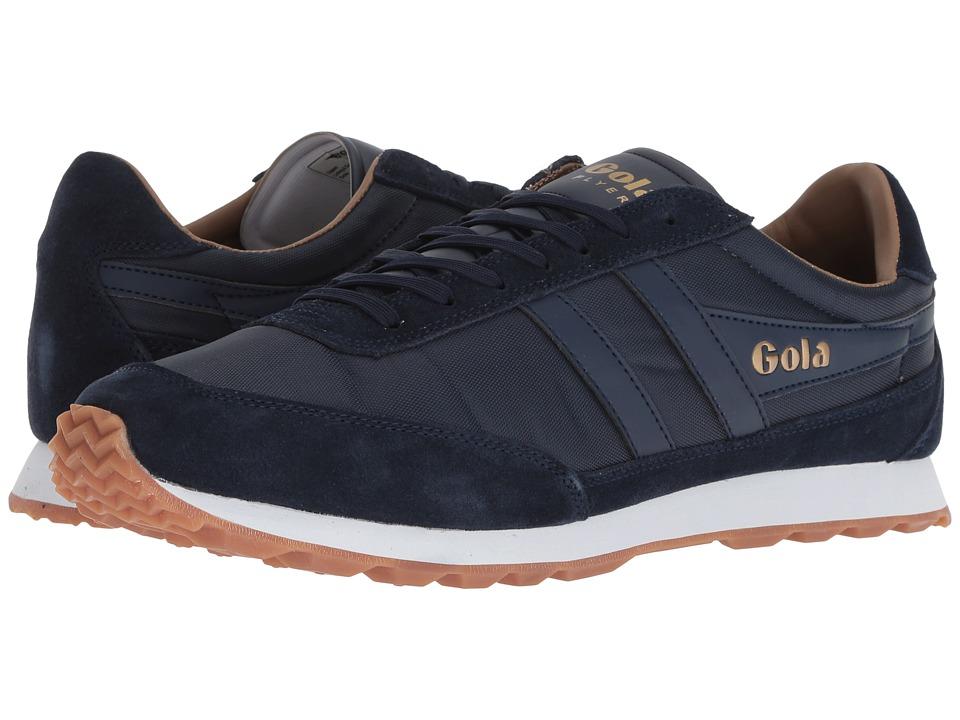 Gola - Flyer (Navy/Gum) Boys Shoes