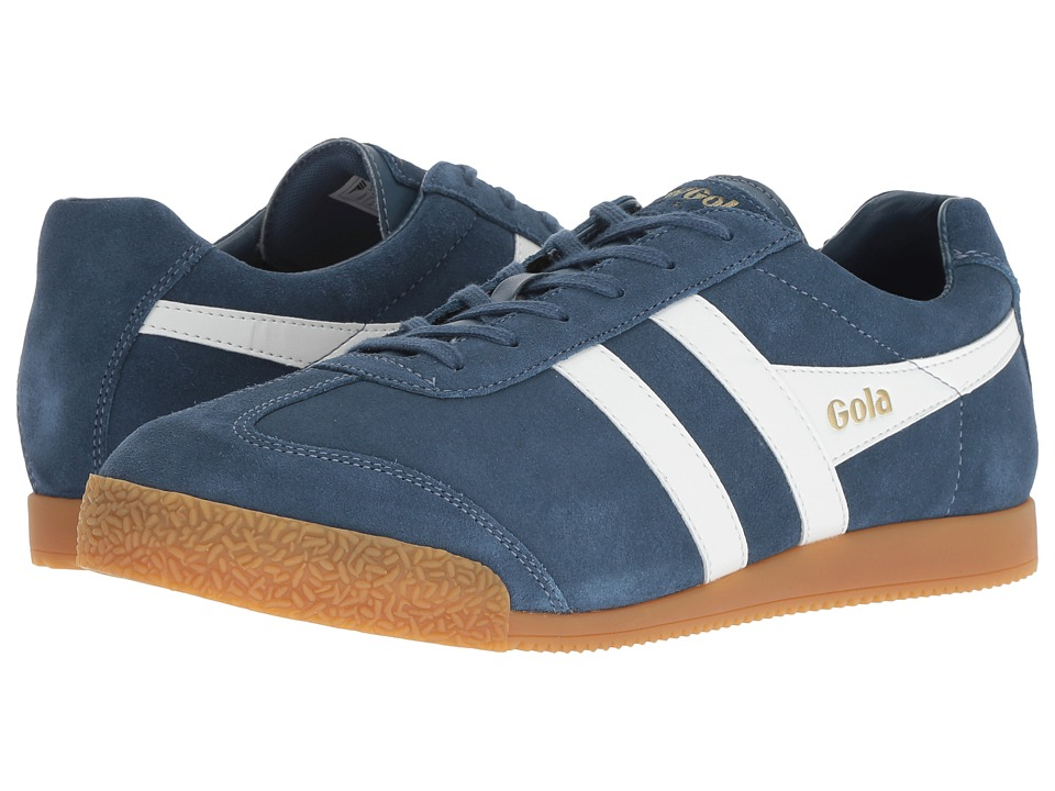 Gola - Harrier (Baltic/White) Boys Shoes