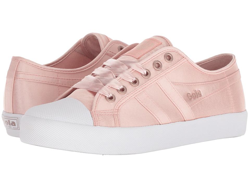Gola Coaster Satin (Blush Pink/White) Women's Shoes