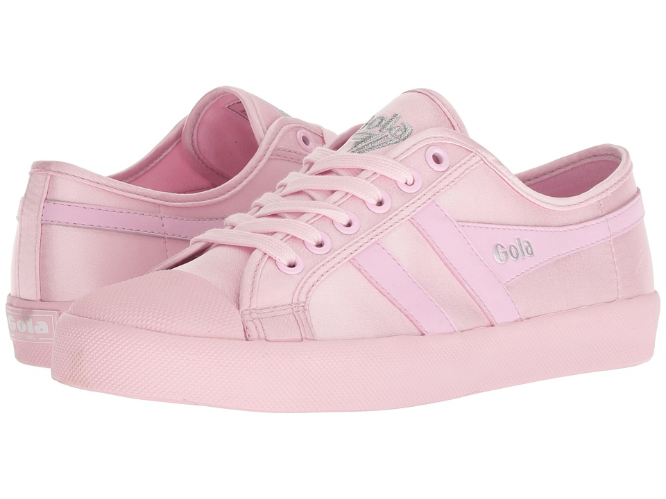 Gola Coaster Satin Neon (Neon Pastel Pink) Women's Shoes