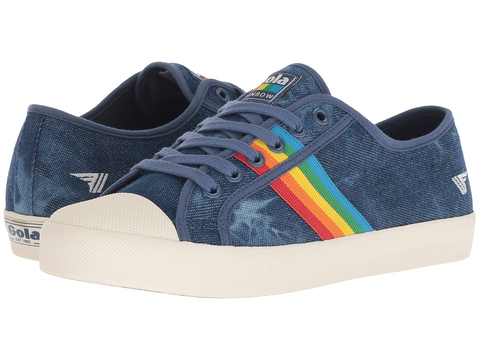Gola Coaster Rainbow (Denim/Multi) Women's Shoes