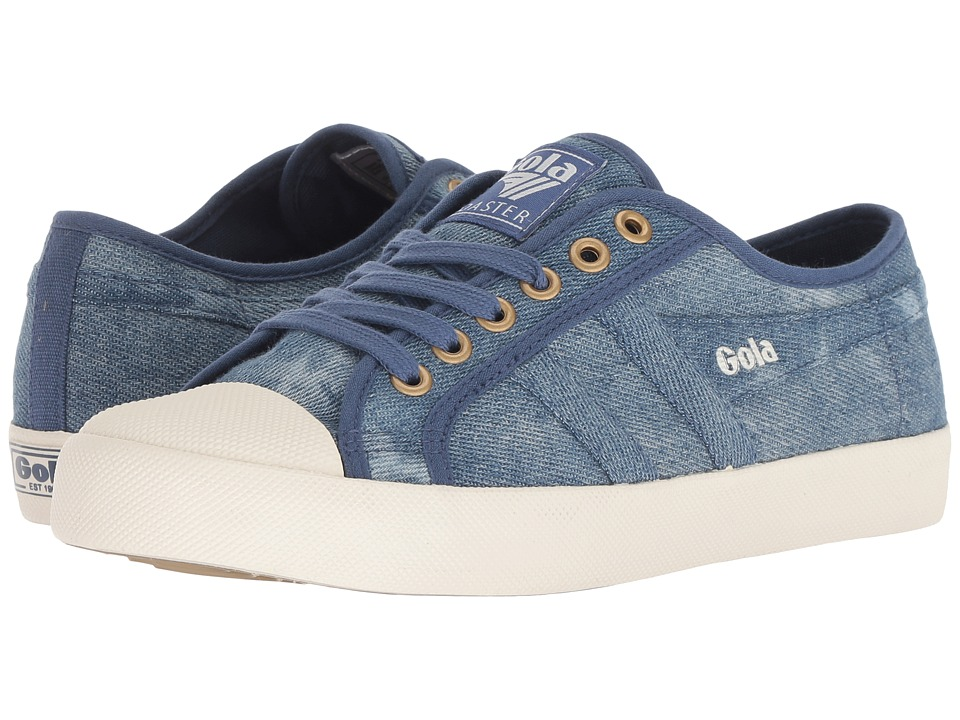 Gola Coaster Denim (Denim/Off-White) Women's Shoes