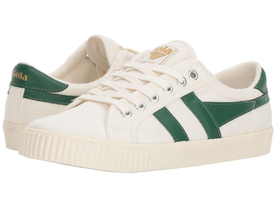 Gola - Tennis - Mark Cox (Off-White/Dark Green) Girls Shoes