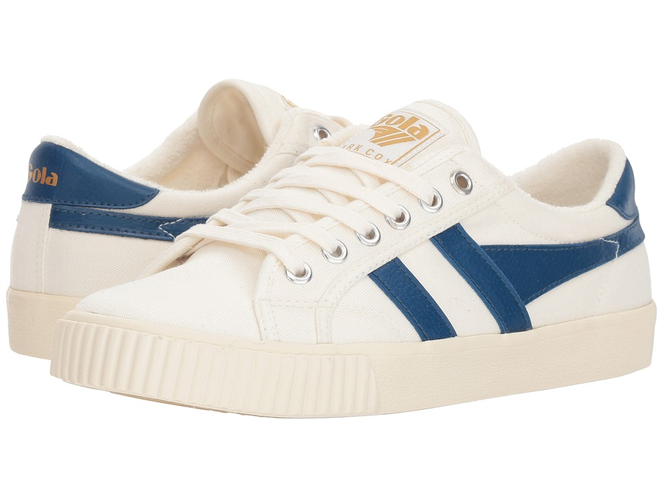 Gola Tennis - Mark Cox (Off-White/Heritage Blue) Women's Shoes