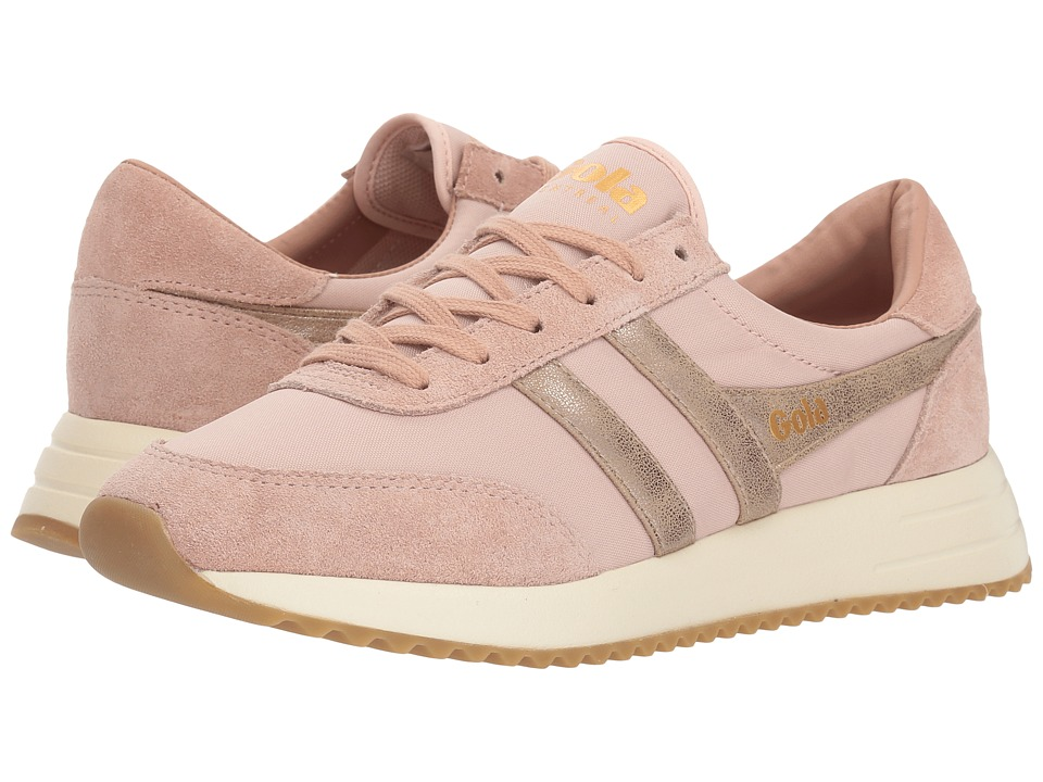 Gola Montreal Mirror (Blush Pink/Gold/Off-White) Women's Shoes
