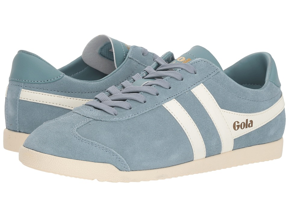 Gola Bullet Suede (Sky Blue/Off-White) Women's Shoes