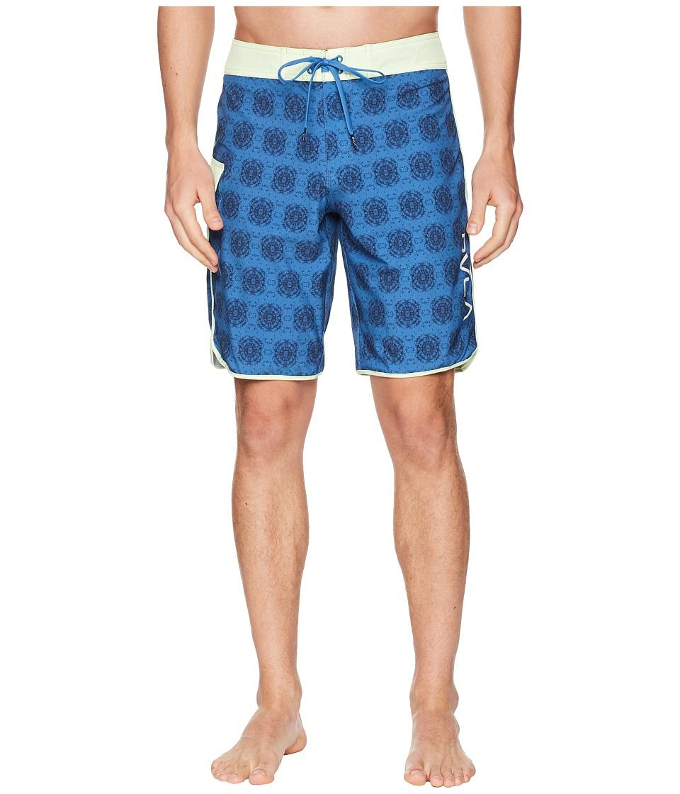 RVCA - Eastern 20 Trunks (Cobalt) Mens Swimwear