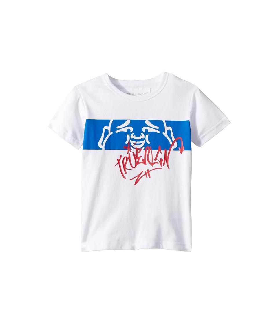 True Religion Kids - Buddha Tee (Toddler/Little Kids) (White 1) Boys T Shirt