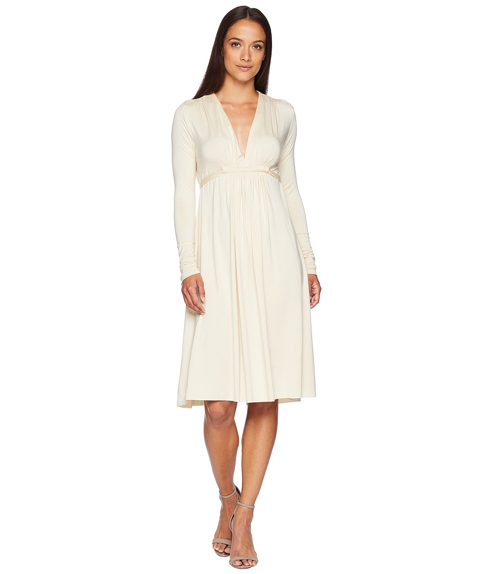 Rachel Pally - Long Sleeve Caftan (Cream) Womens Dress