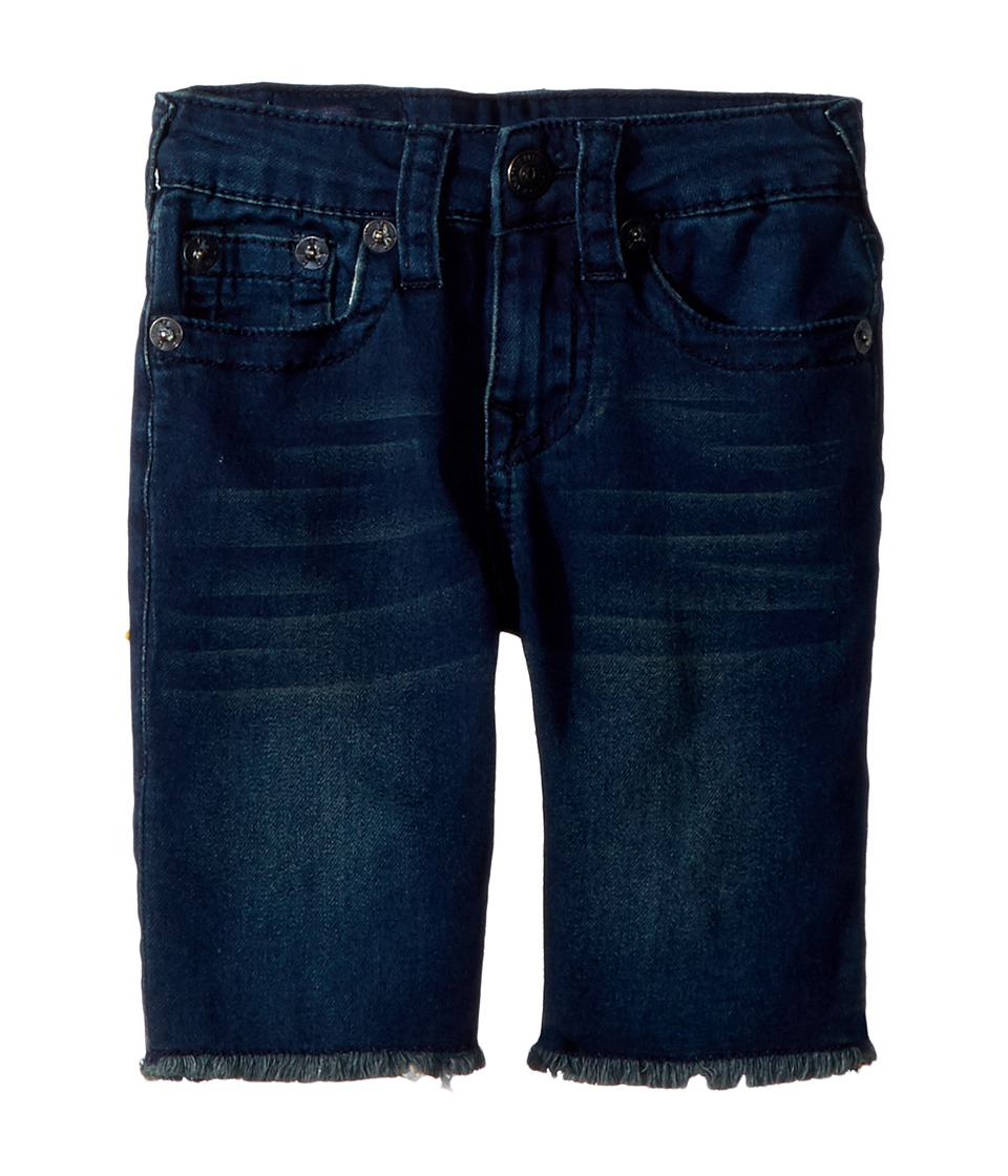 True Religion Kids - FT Geno Shorts (Toddler/Little Kids) (Bomb Blue) Boys Shorts