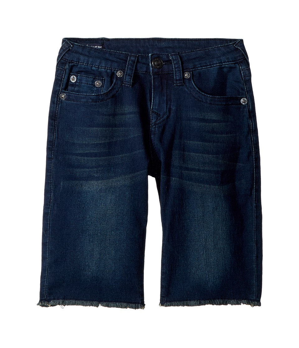 True Religion Kids - FT Geno Shorts (Big Kids) (Bomb Blue) Boys Shorts