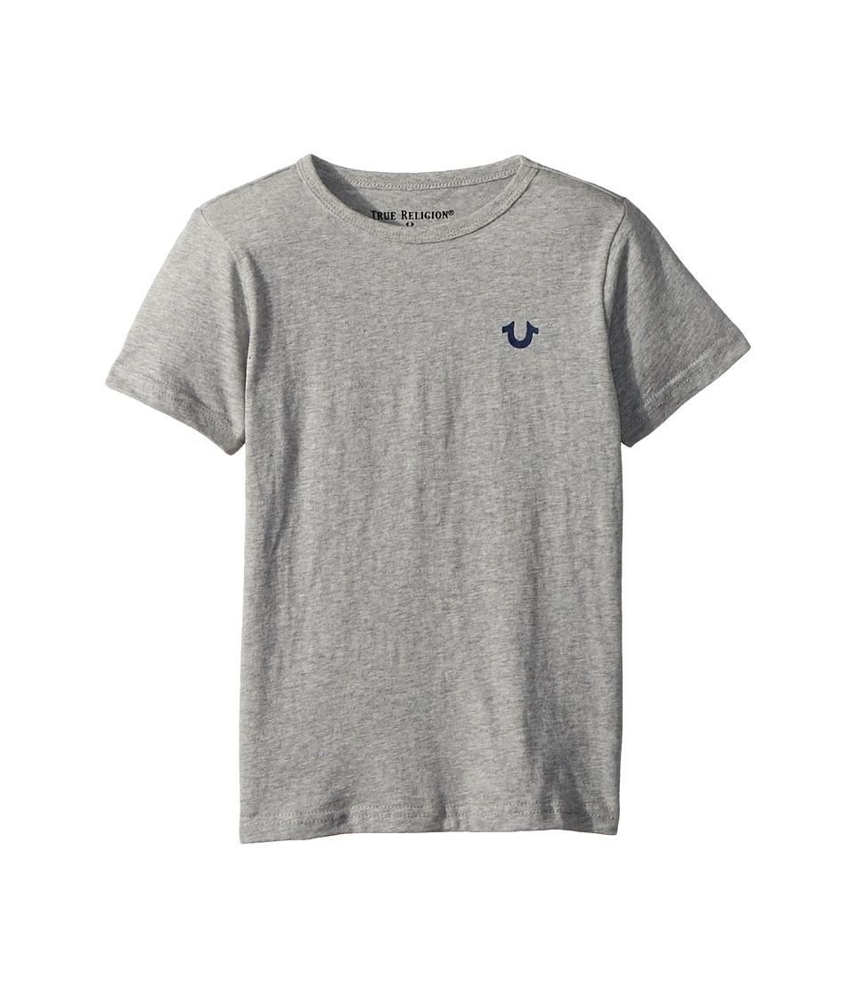True Religion Kids - Branded Logo T-Shirt (Toddler/Little Kids) (Heather Grey) Boys T Shirt