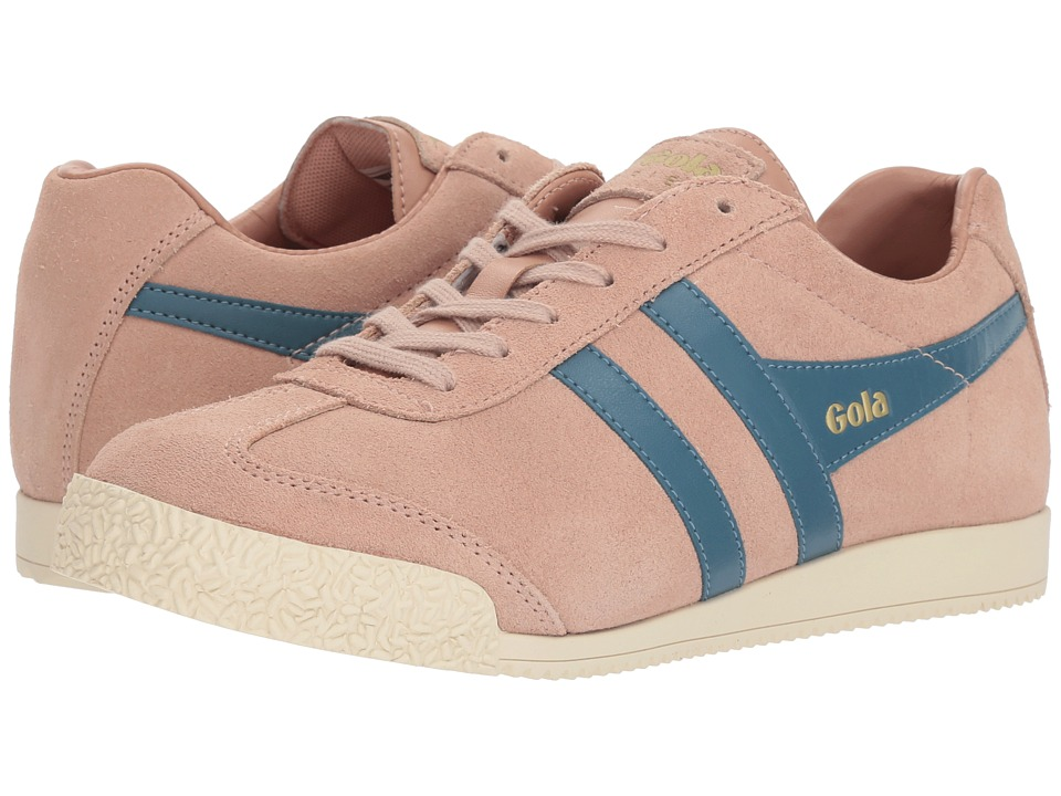 Gola Harrier (Blush Pink/Indian Teal) Women's Shoes