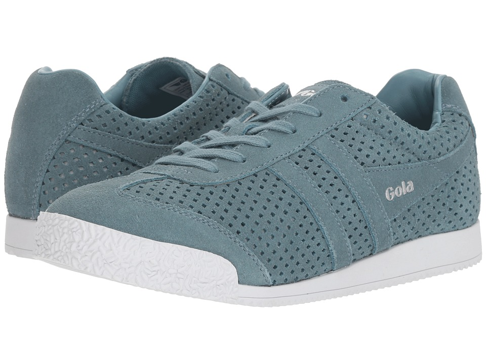 Gola Harrier Squared (Indian Teal) Women's Shoes