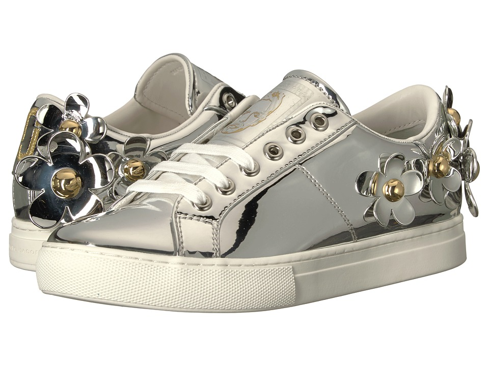 Marc Jacobs Daisy Sneaker (Silver) Women's Shoes