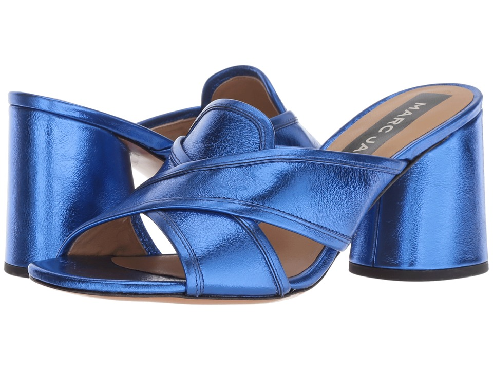 Marc Jacobs Aurora Mule (Blue) Women's Clog/Mule Shoes
