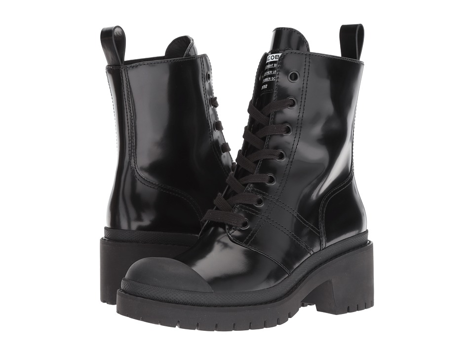 Marc Jacobs Bristol Laced-Up Boot (Black 1) Women's Shoes