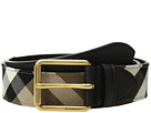 Burberry Grainy Leather House Check Belt