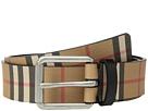 Burberry Mark Vintage Check Leather Belt