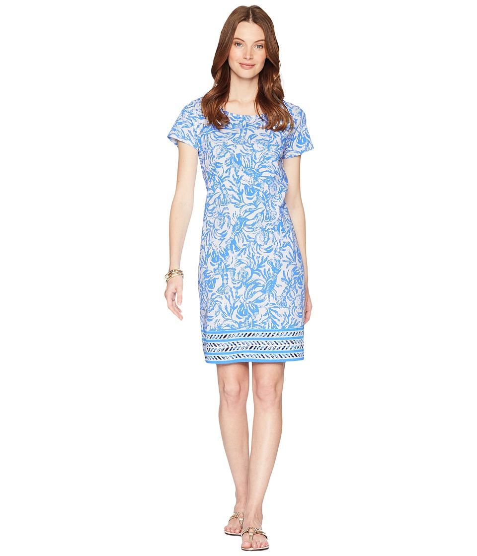 Lilly Pulitzer - Short Sleeve Marlowe Dress (Resort White On A Roll) Womens Dress