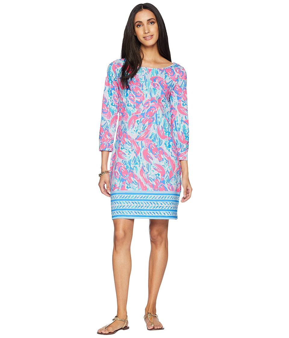 Lilly Pulitzer - Marlowe Dress (Cosmic Coral Cracked Up) Womens Dress