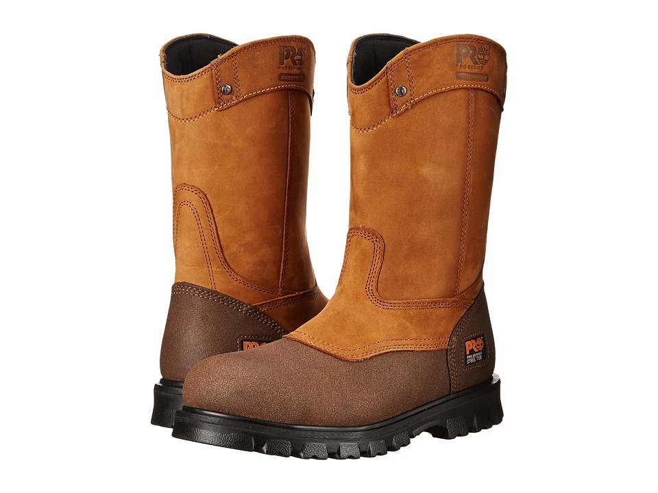 Timberland PRO - Rigmaster Pull-On Steel Toe Waterproof (Wheat Bandit) Mens Waterproof Boots