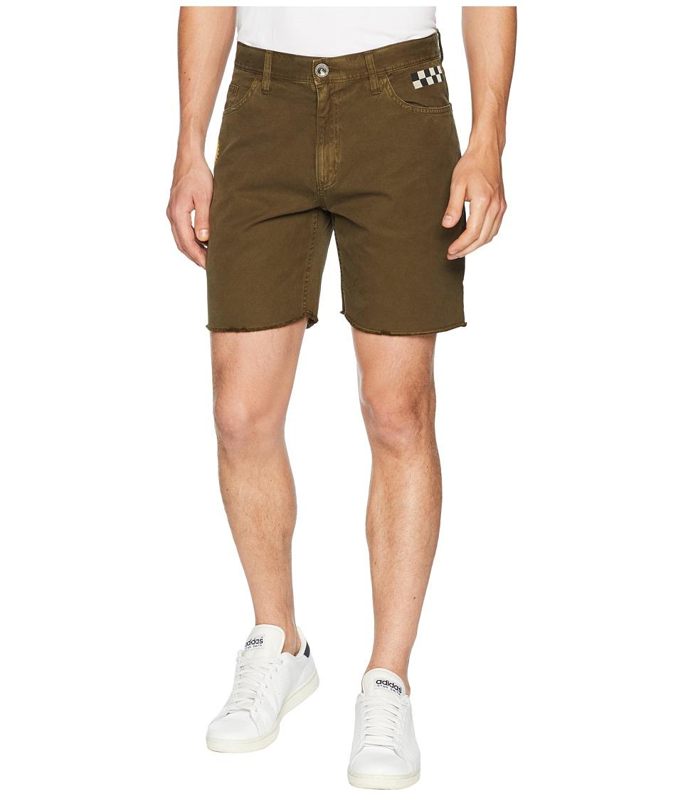 RVCA - LP Shorts (Burnt Olive) Mens Shorts
