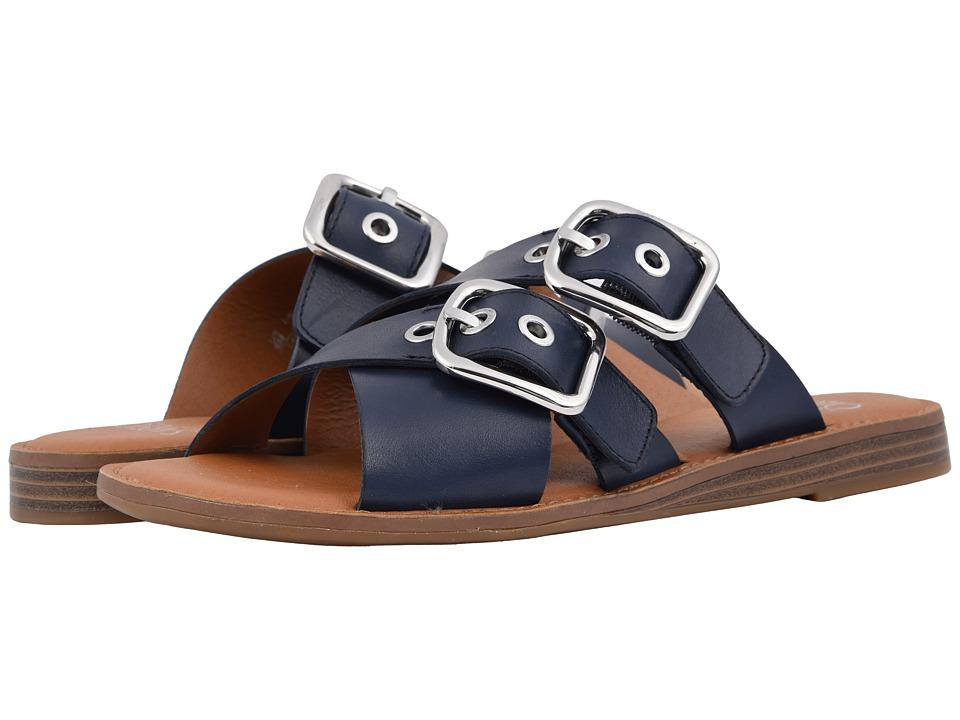 Franco Sarto Gaia (Deep Blue Sea) Women's Dress Sandals