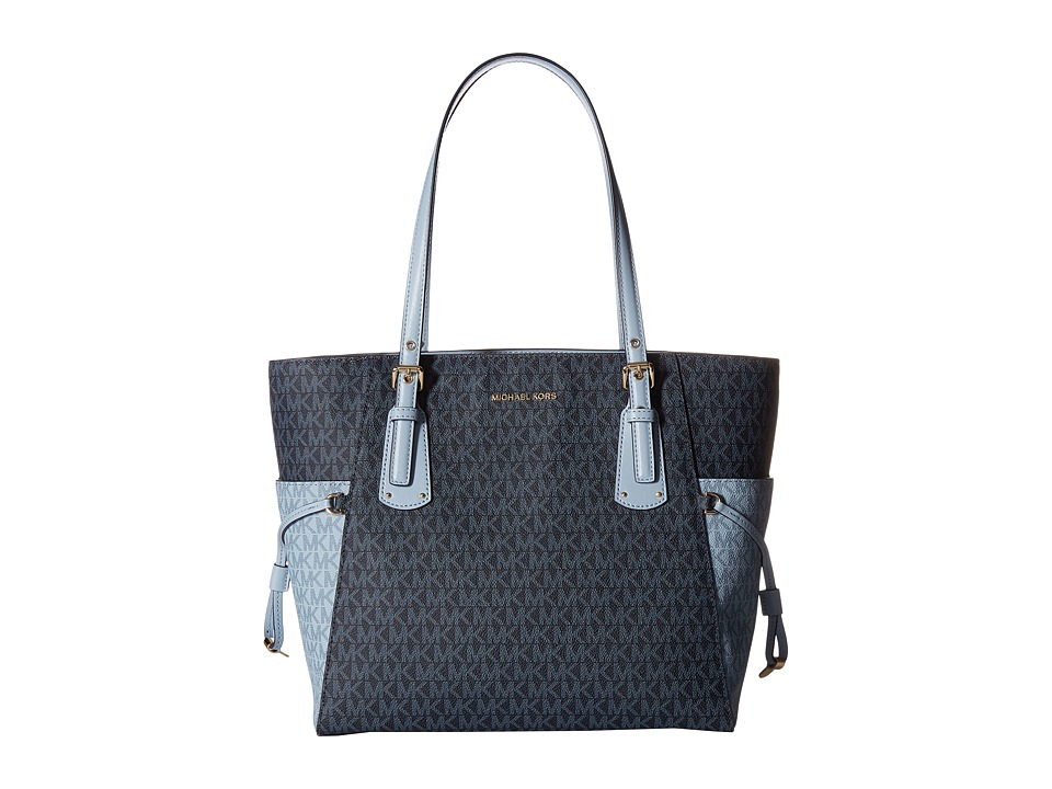 Michael Kors Voyager East/West Signature Tote (Admiral/Pa...