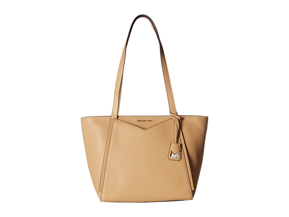 Michael Kors Whitney Small Top Zip Tote (Butternut) Tote ...