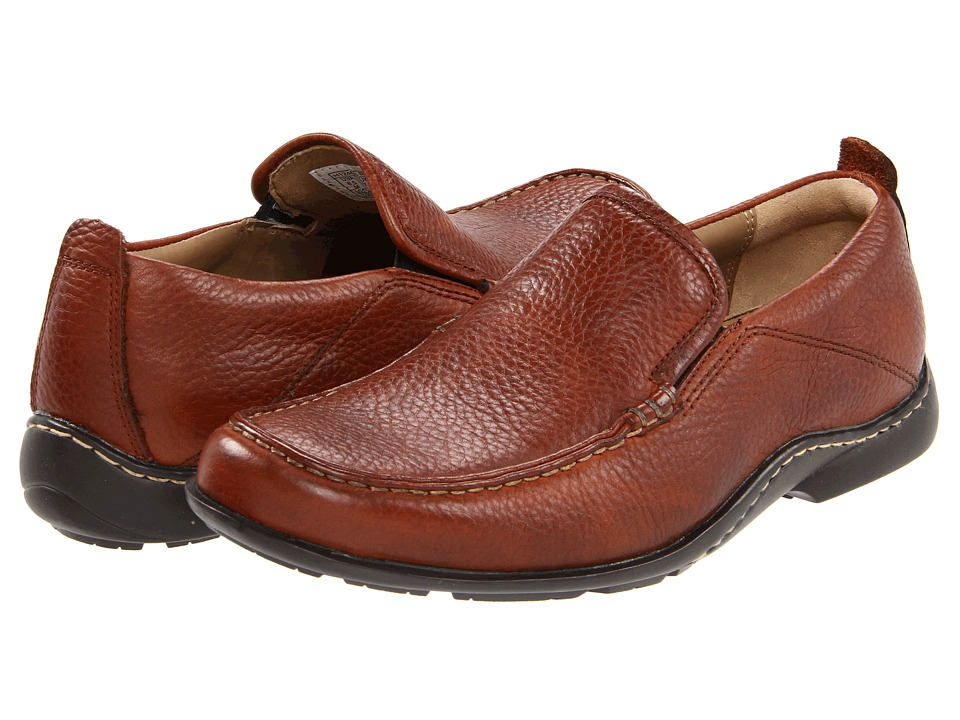 Hush Puppies GT (Brown Leather) Men's Slip on Shoes