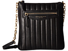 Donna Karan Erin North/South Top Zip Crossbody