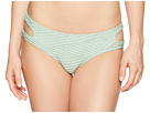 THE BIKINI LAB Sand Dunes Cut Out Hipster Bottom
