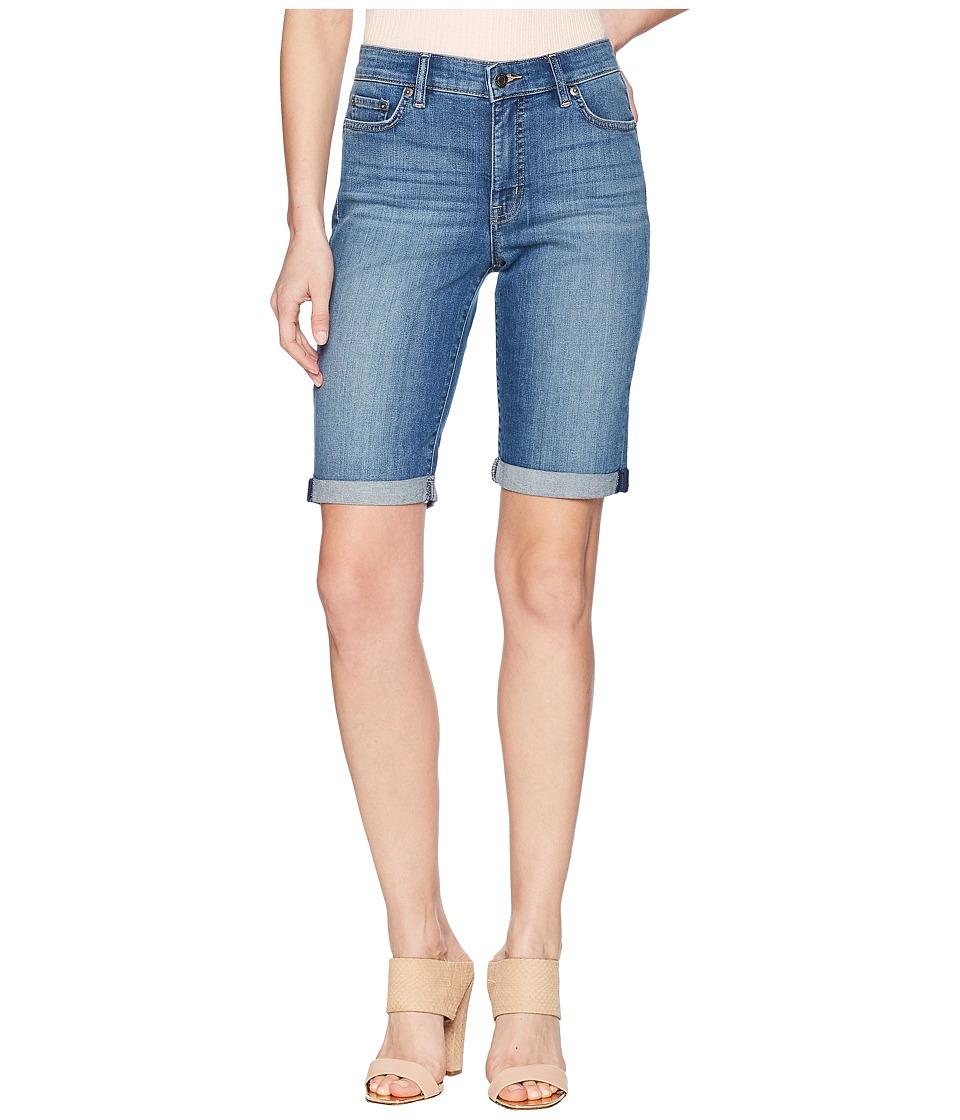 LAUREN Ralph Lauren - Superstretch Denim Shorts (Coastal Indigo Wash) Womens Shorts