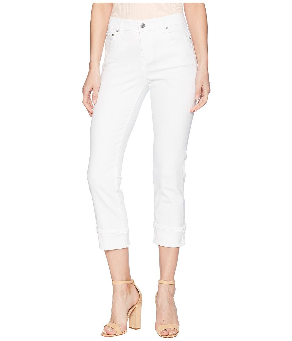 LAUREN Ralph Lauren - Classic Straight Leg Jeans (Pure White Wash) Womens Jeans