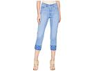 LAUREN Ralph Lauren Embroidered Straight Crop Jeans