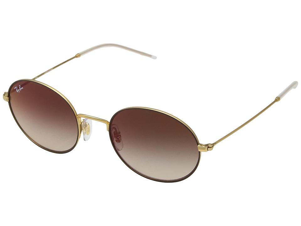Ray-Ban 0RB3594 53mm (Brown/Brown Gradient Mirror) Fashion Sunglasses