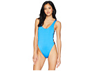 THE BIKINI LAB Route 66 Strappy One-Piece Swimsuit