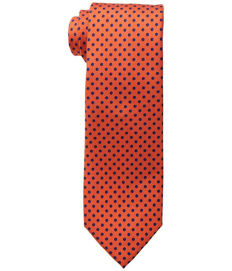 Tommy Hilfiger Solid Polka Dot (Orange) Ties