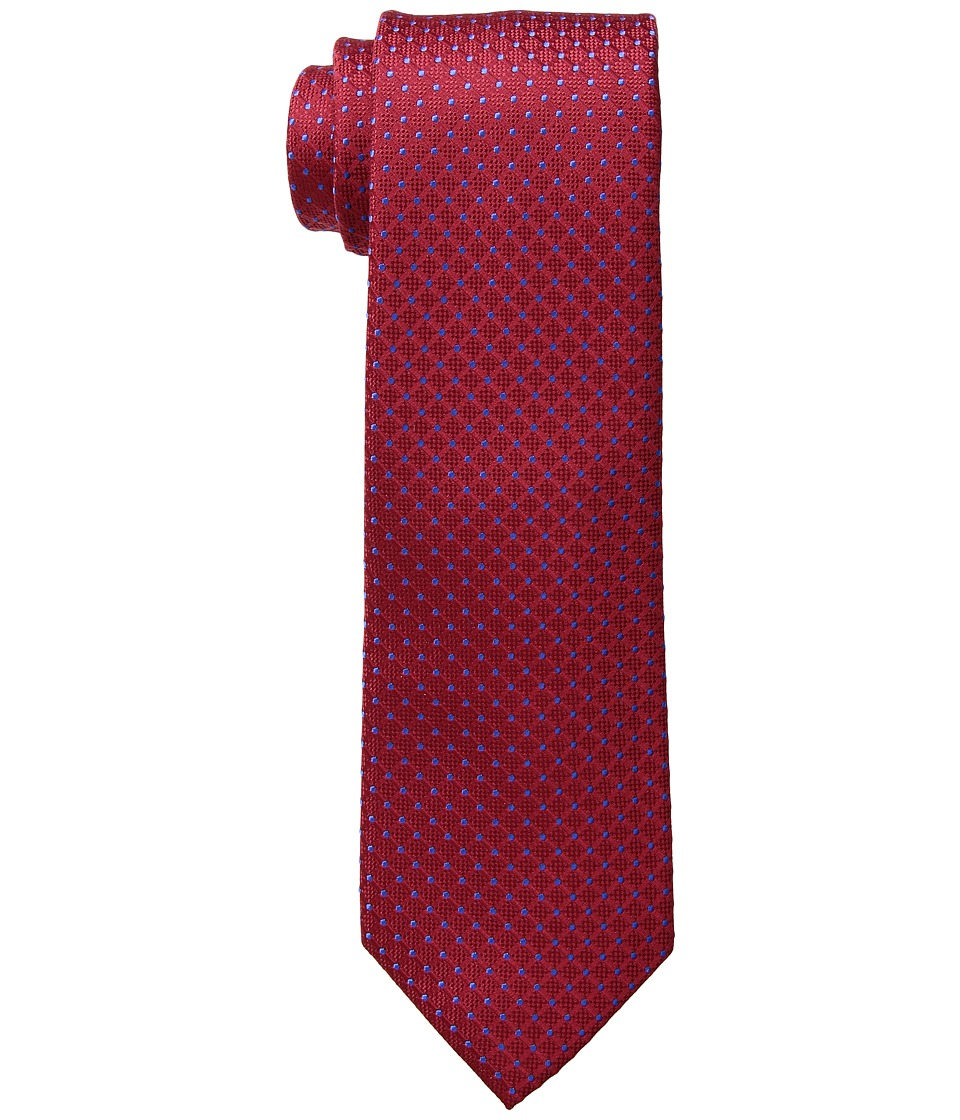 Tommy Hilfiger - Connected Dot (Red 1) Ties