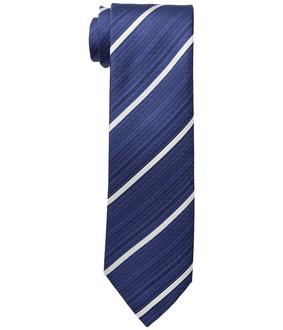 Kenneth Cole Reaction - Linear Stripe (Navy) Ties