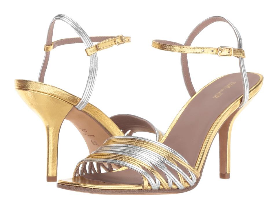 Diane von Furstenberg Federica (Silver/Gold) Women's Shoes