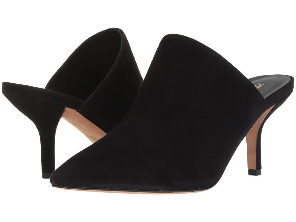 Diane von Furstenberg Mikaila (Black Kid Suede) Women's Shoes