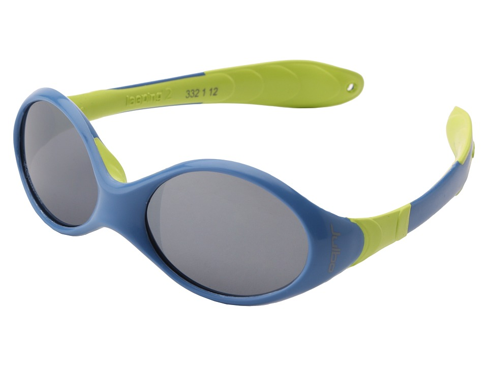 Julbo Eyewear Kids Looping II X6 Little Kids Dark Blue/Anise Athletic Performance Sport Sunglasses