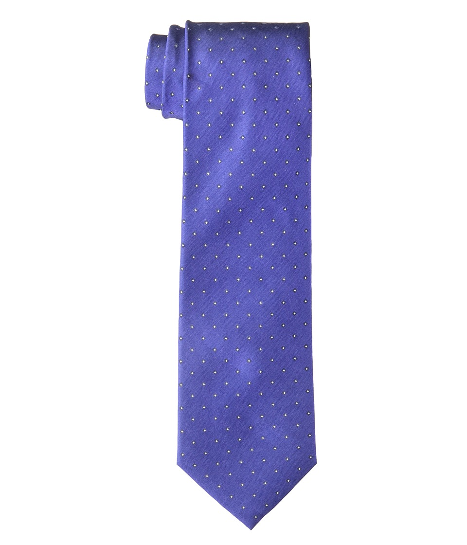Calvin Klein - Micro Reflection Square (Purple) Ties